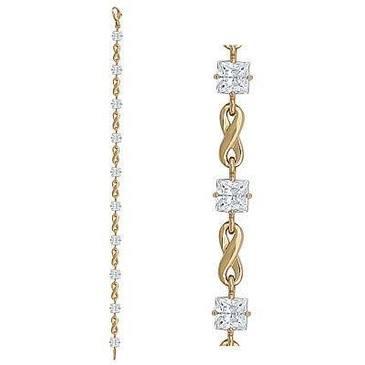 браслет c аметистами из красного золота 41992719-7-17 от EVORA