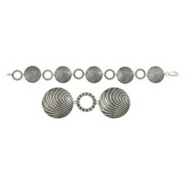 браслет из серебра 3401041239-19