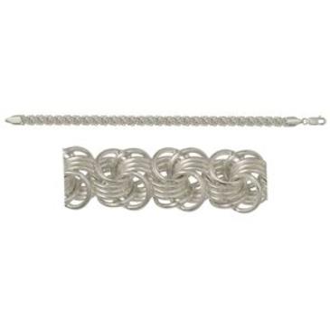 браслет из серебра 368006082020-6