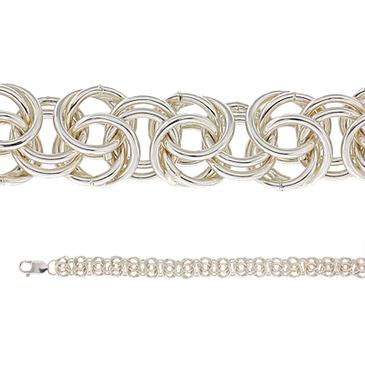 браслет из серебра 368008099023