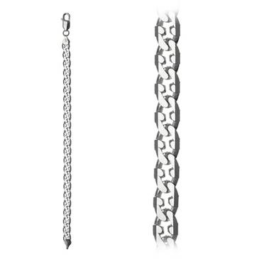 браслет из серебра s445б