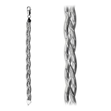 браслет из серебра trb248б