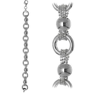 браслет Вениса из серебра fscbrб30