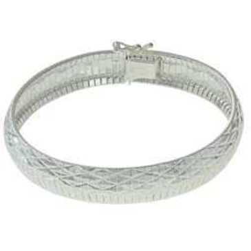 жесткий браслет из серебра omb443б120