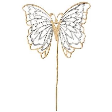брошь в виде бабочки из красного золота 1401121687