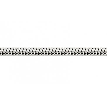 Цепь плетение корда , веревочка из белого золота 26432