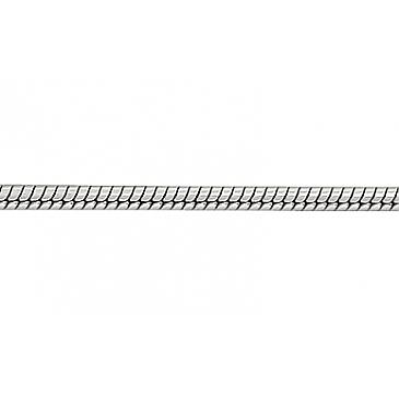 Цепь плетение корда из белого золота 70619