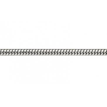 Цепь плетение корда, веревочка из белого золота 38465
