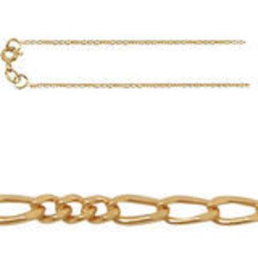 цепь ромбовое комбинированное плетение из красного золота 165803055040