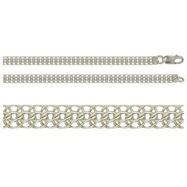 цепь из серебра 366005042050