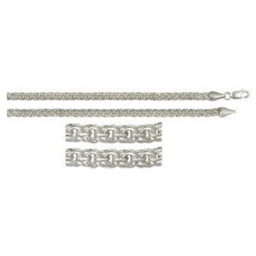 цепь (плетение - бисмарк) из серебра 366009080045