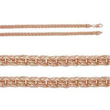цепь плетение бисмарк из серебра 366208080050