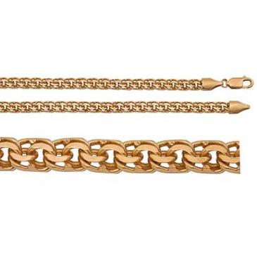 цепь плетение бисмарк из серебра 366409080040