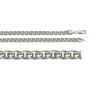 цепь плетение бисмарк из серебра 366709080040