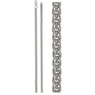 цепь плетение бисмарк из серебра 366908080040