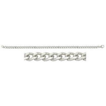 цепь плетение комбинированное из серебра 365710001055