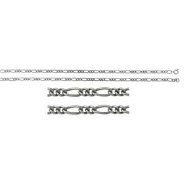 цепь плетение комбинированное из серебра 365110041065