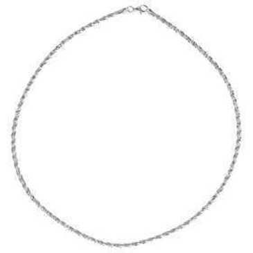 цепь плетение комбинированное из серебра faurojц002