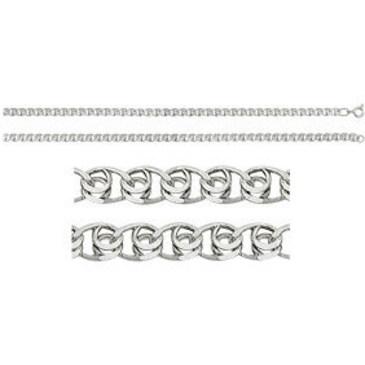 цепь плетение love из серебра 365707049065 от EVORA