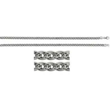 цепь плетение нонна из серебра 365110002060