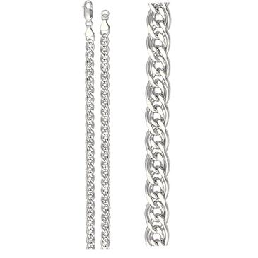 цепь плетение нонна из серебра 365810002045