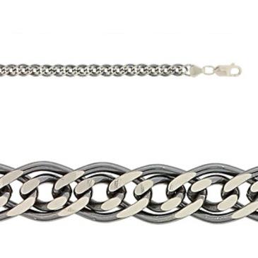 цепь плетение нонна из серебра 365310002045