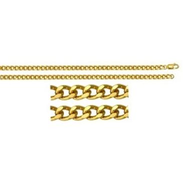 цепь плетение панцирное из серебра 365415001045-1