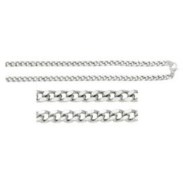 цепь плетение панцирное из серебра 365715007050
