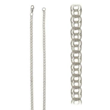цепь плетение питон из серебра 366508080050