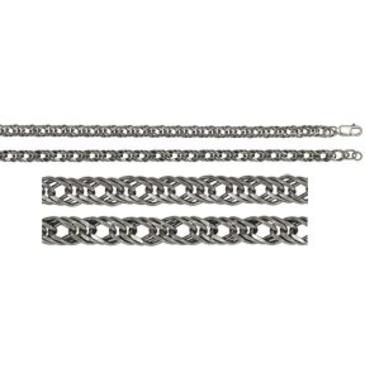 цепь плетение ромбовое из серебра 365307021055