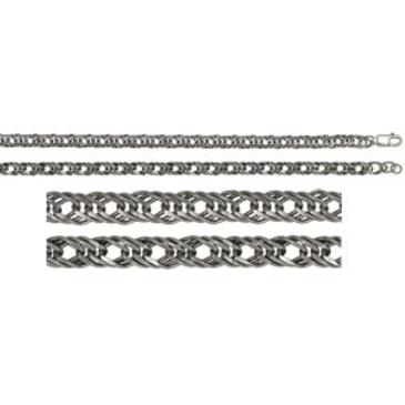 цепь плетение ромбовое из серебра 365307021060