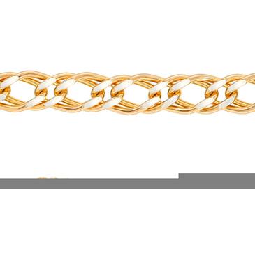 цепь плетение ромбовое из серебра 365410020045-2