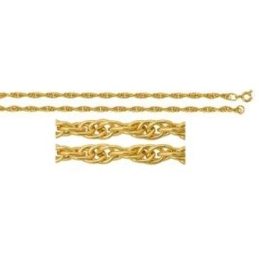 цепь плетение сингапур из серебра 365207047055-1