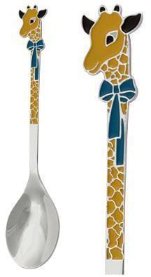 серебряная ложка жирафенок