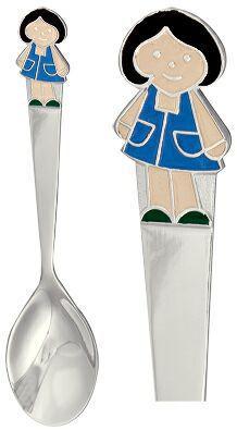 ложка для девочки из серебра 3620067025-1
