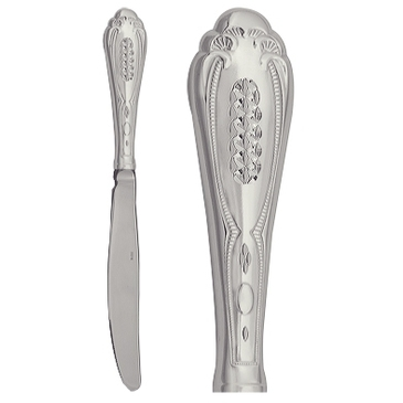нож столовый из серебра 3408061009