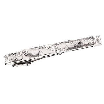 Зажим для галстука 'МУСТАНГ' из серебра З-35001