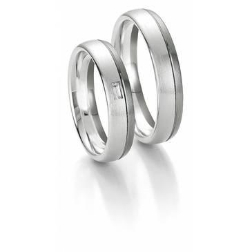Кольцо Breuning из белого золота 48700603-0-44