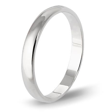кольцо обручальное из белого золота 1406108055
