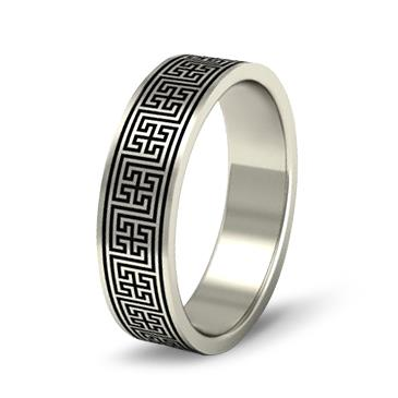 Кольцо обручальное из белого золота. из белого золота WD104WD