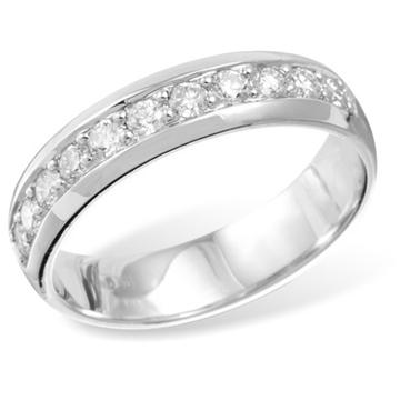 Кольцо  с бриллиантами из белого золота FR1629WG