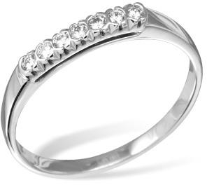 Кольцо  с бриллиантами из белого золота R11161WG