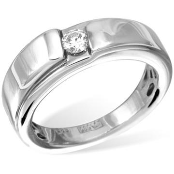 Кольцо  с бриллиантами из белого золота R11361WG