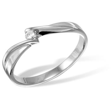 Кольцо  с бриллиантами из белого золота R121029WG