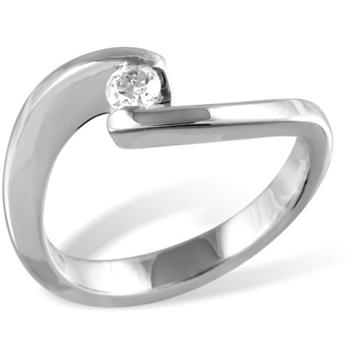 Кольцо  с бриллиантами из белого золота R12590WG