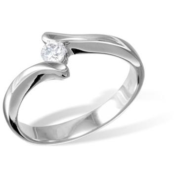 Кольцо  с бриллиантами из белого золота R12704WG