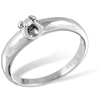 Кольцо  с бриллиантами из белого золота R12817WG