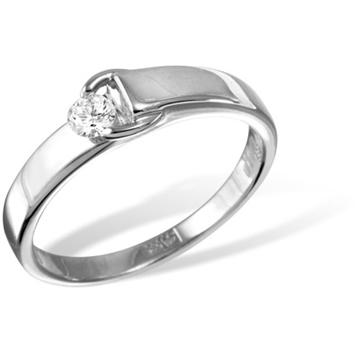 Кольцо  с бриллиантами из белого золота R5510WG