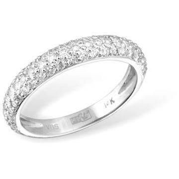 Кольцо  с бриллиантами из белого золота RKSR-02986WG