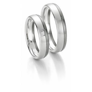 Кольцо Breuning из белого золота 48700602-0-44